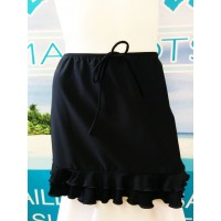 beach skirt J-6 ( nero )
