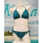 Bikini / Maillot B-28 (dentelle turquoise )