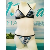 bikini sport / maillot (Navy )
