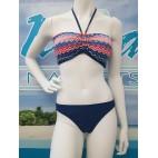 Bikini / Maillot B-59 ( chevron corail)