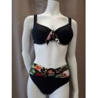 Bikini maillot B-54 (nero)